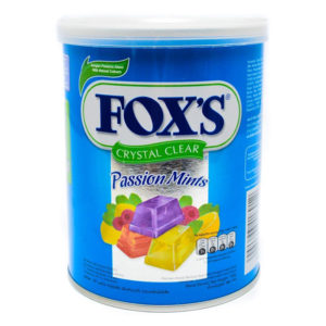 Fox's Crystal Clear Passion Mints 180g