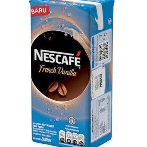Nescafe UHT French Vanilla 200ml